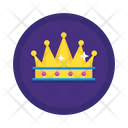 Crown King Chess Icon