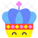 Crown King Leader Icon