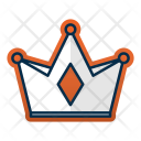 Crown King Luxury Icon