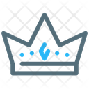 Crown Premium King Icon
