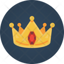 Crown Golden Crown Ruby Crown Icon