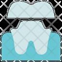 Dentist Crown Stomatology Icon
