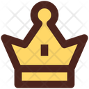 Crown King Princess Crown Icon