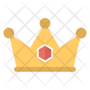 Crown Tiara Gold Icon
