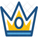 Crown Headgear Gold Icon