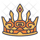 Medieval Crown Queen Icon