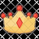 Crown Headpiece Headgear Icon