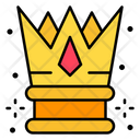 Crown King Royalty Icon