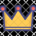Crown Headgear King Icon