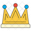 Crown King Decorations Icon