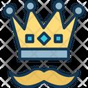 Crown Headgear Star Crown Icon