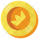 Crown Coin Icon