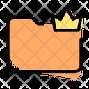 Crown Folder Icon