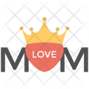 Crown Mom Banner Icon