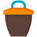 Crucible Melting Pot Pot Icon