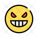 Cruel Vicious Angry Icon