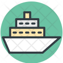Cruise Ship Liner Icon