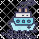 Ship Sea Sail Icon