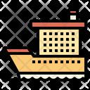 Ocaen Liner Cruise Ship Icon