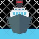 Cruise A Merchant Ship Sailboat Icon