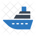 Cruise Boat Ship Icon