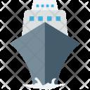 Cruise Boat Vessel Icon