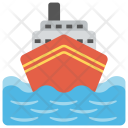 Cruise Sea Ship Icon