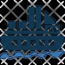 Cruise Yacht Boat Icon