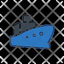 Cruise Shipping Board Icon