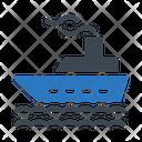 Cruise Ship Transport Icon