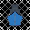 Cruise Ship Cargo Icon