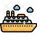 Cruise Ship Summer Icon