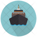 Cruise Front View Cruise Ship Icon