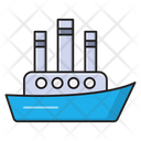 Cruise Boat Ship Icon