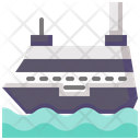 Cruise Holidays Ship Icon