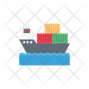 Cruise Ship Container Icon