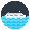 Ship Cruise Watercraft Icon
