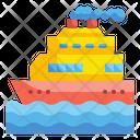 Cruise Transportation Trip Icon
