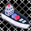Vessel Ship Boat Icon