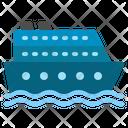 Cruise Transport Ship Ocean Sea Vessel Travel Icon