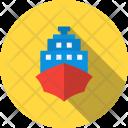 Cruise Sea Ship Icon