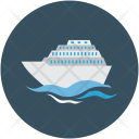 Cruise Liner Ship Icon