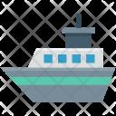 Cruise Liner Ship Icon