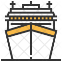 Cruise Vehicle Transportation Icon