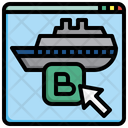 Cruise Booking Booking Reservation Icon