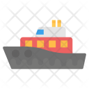 Cruise Liner Icon