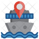 Cruise Location Ship Location Location Icon
