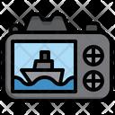 Cruise Photo Icon
