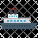 Cruise Ship Ferris Boat Ferry Icon