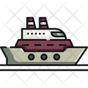 Cruise Ship Ship Boat Icon